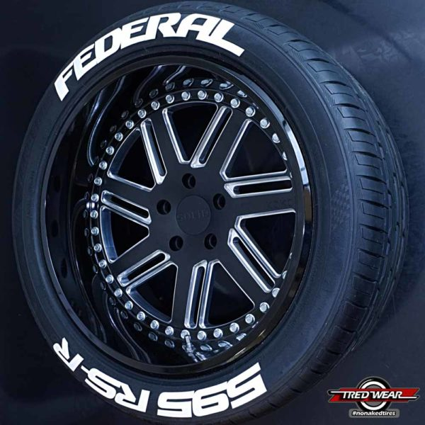 Federal 595 RS-R Tire Graphics | Tredwear Tire Graphics